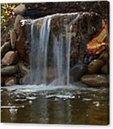 Water Feature Art Canvas Print