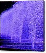 Water Fountain Canvas Print