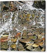 Water From A Stone Canvas Print