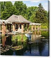 Water Garden Serenity Canvas Print