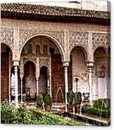 Water Gardens Of The Palace Of Generalife Canvas Print