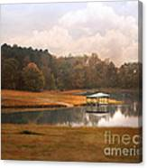 Water Gazebo Canvas Print