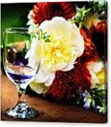 Water Goblet Canvas Print