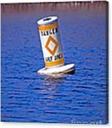 Water Hazard Canvas Print