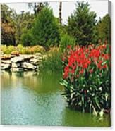 Water Hazard Santa Maria Country Club Canvas Print