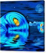 Water Homes Of The Sea Fairies Canvas Print