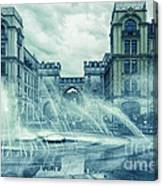 Water In The City Canvas Print