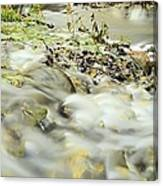 Water Over The Dike Canvas Print