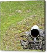 Water Pipe Canvas Print