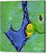 Water Plants 3 Canvas Print