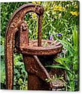 Water Pump Canvas Print