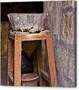 Water Purification In Arequipa Canvas Print