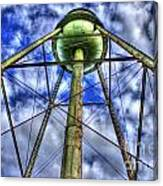 Mary Leila Cotton Mill Water Tower Art  Canvas Print