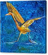 Water Run Canvas Print