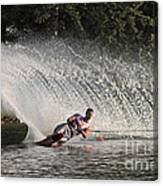 Water Skiing 12 Canvas Print