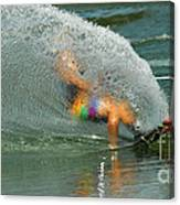 Water Skiing 5 Magic Of Water Canvas Print