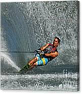 Water Skiing Magic Of Water 14 Canvas Print