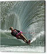 Water Skiing Magic Of Water 27 Canvas Print