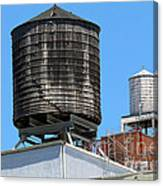 Water Tanks From The High Line Canvas Print
