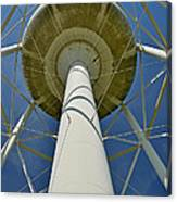 Water Tower Belly Canvas Print