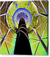 Water Tower Belly V Canvas Print