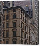 Water Towers Feed The Nyc Buildings Canvas Print