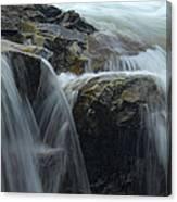 Water Veil Canvas Print