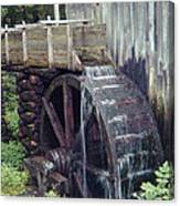 Water Wheel Canvas Print