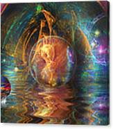 Water Worlds Canvas Print