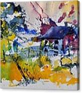Watercolor 413050 Canvas Print