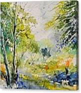 Watercolor 414061 Canvas Print