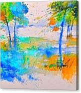 Watercolor 45314012 Canvas Print