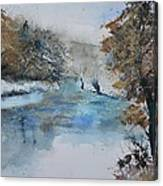 Watercolor 511003 Canvas Print