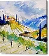 Watercolor Toscana 317040 Canvas Print