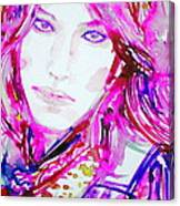 Watercolor Woman.33 Canvas Print