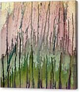Watercolors Running Canvas Print