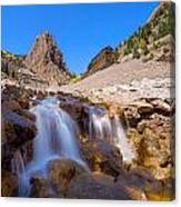 Waterfall At The Commodore Canvas Print