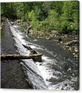 Waterfall At West Point II Canvas Print