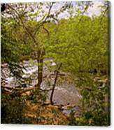 Waterfall At West Point Canvas Print