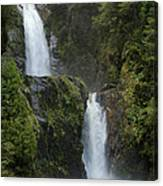 Waterfall, Chile Canvas Print