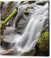 Waterfall Close Up In Marlay Park Canvas Print