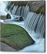 Waterfall Close Up Canvas Print
