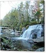 Waterfall Country Canvas Print