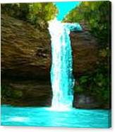 Waterfall Dreams Canvas Print