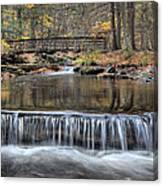 Waterfall - George Childs State Park Canvas Print