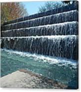 Waterfall Heaven Canvas Print