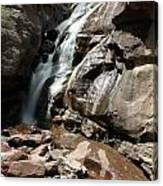 Waterfall In Colorado Canvas Print