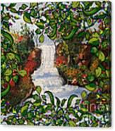 Waterfall - Kinetic Energy Canvas Print