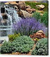 Waterfall Lanscape Canvas Print
