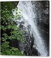 Waterfall Mine Kill State Park New York Canvas Print